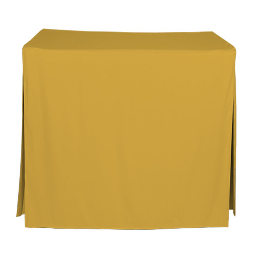34-Inch Fitted Table Cover - Mimosa