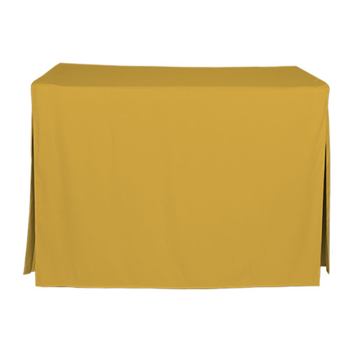 4-Foot Fitted Table Cover - Mimosa