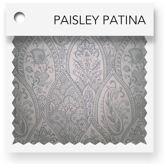 click here for paisley patina colored tablevogues