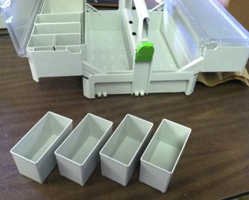 Festool Medium Container Boxes for SYS-SB (4pc)