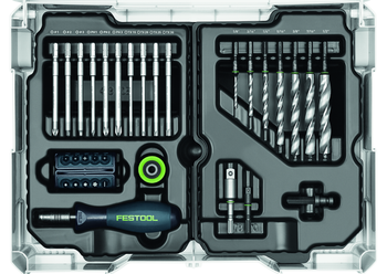 Festool Centrotec Installers Set - 89 Piece Systainer Kit (201312)