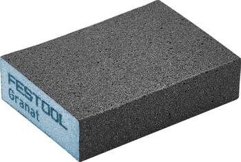 "Festool Granat | Abrasive Block 2-23/32"" x 3-27/32"" x 1"" | 220 Grit x 6 pieces (201083)"