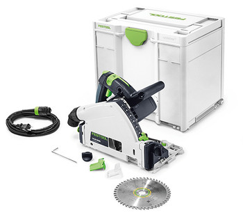 Festool TS 55 REQ-F-Plus Plunge Cut Saw w/o Guide Rail (576011)