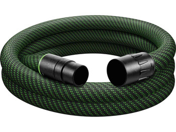 "Festool Antistatic Hose w/ Sleeve 1-7/16"" x 11.5' (36mm x3.5m) (204924)"