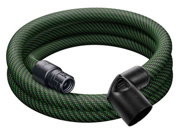 "Festool Antistatic Hose w/ Sleeve w/ Angle Adapter 1-1/16"" x 9' (27 x 3m ) (201665)"