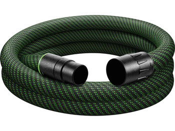 "Festool Antistatic Hose w/ Sleeve 1-1/16"" x 16.5' (27/32 x 5m ) (204922)"
