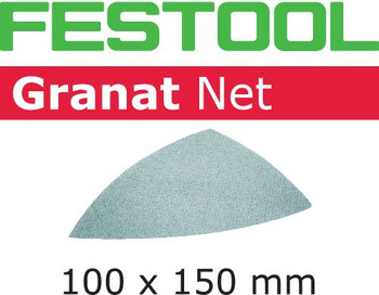 Festool Granat Net | Delta | 220 Grit | Pack of 50 (203325)
