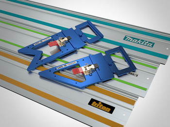 TSO Guide Rail Square Combination Set (61-233 A)