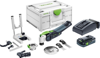 Festool Cordless Oscillating Tool OSC 18 Sets