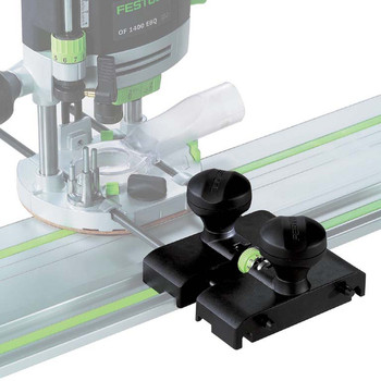 Festool OF 1400 EQ Router IMPERIAL (574692) With Festool Guide Stop OF 1400 (492601) and Edge Guide (492636)