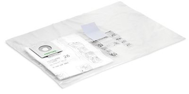 Festool SELFCLEAN filter bag, 5x CT Midi