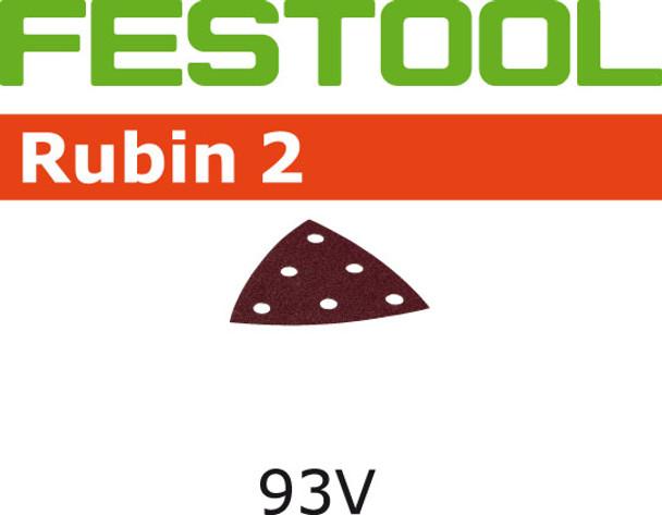 Festool Rubin 2   93 Delta   150 Grit   Pack of 50 (499166)