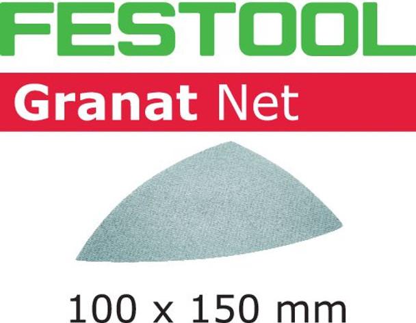 Festool Granat Net | Delta | 320 Grit | Pack of 50 (203327)
