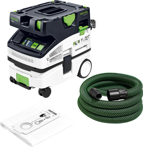 NEW Festool Dust Extractor CT MINI BLUETOOTH HEPA (574845)