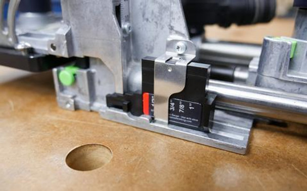 Imperial Thickness Set for Festool Domino XL DF700 (With Domi-Shim)