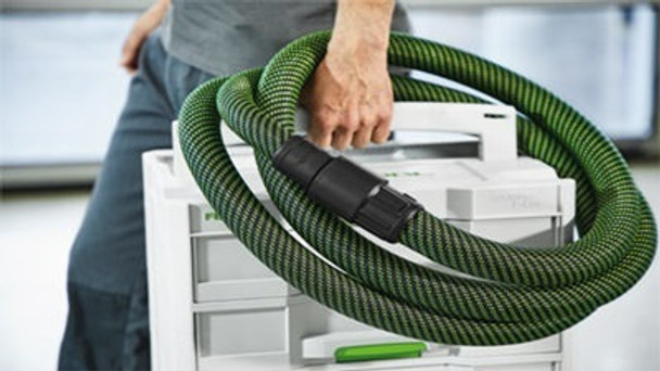 "Festool Antistatic Hose w/ Sleeve 1-7/16"" x 21' (36mm x7m) (204926)"