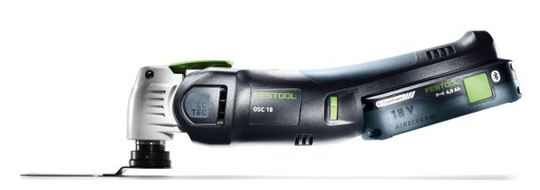 Festool Cordless Oscillating Tool OSC 18 Sets