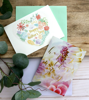 Glamour image featuring Mother's Day cards