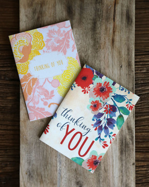 Glamour image featuring thinking of you greeting cards