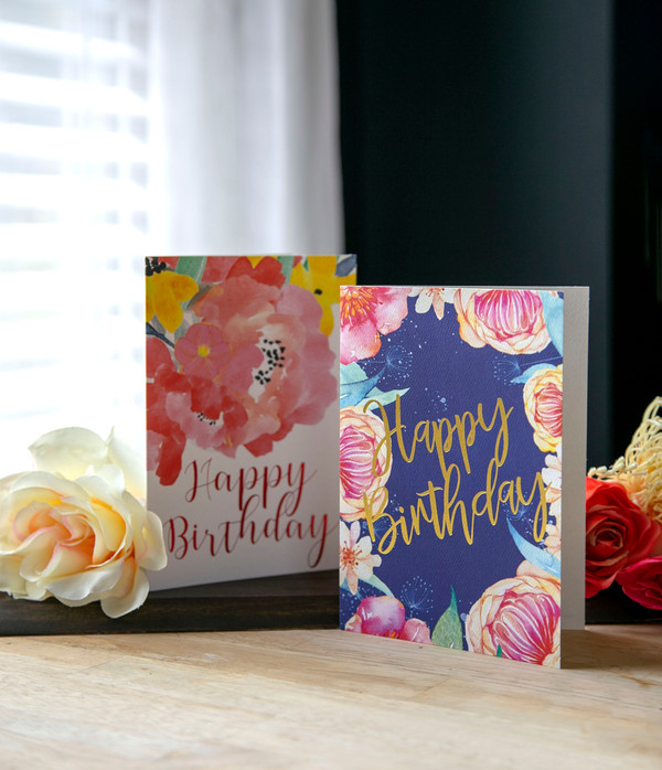 Glamour image of Birthday cards