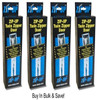 Zip-Up Twin Zipper Door Zippers.  Used For Creating A Temporary Containment Area - Two Complete Zippers Per Box - You Get 4 Boxes - 8 Zippers