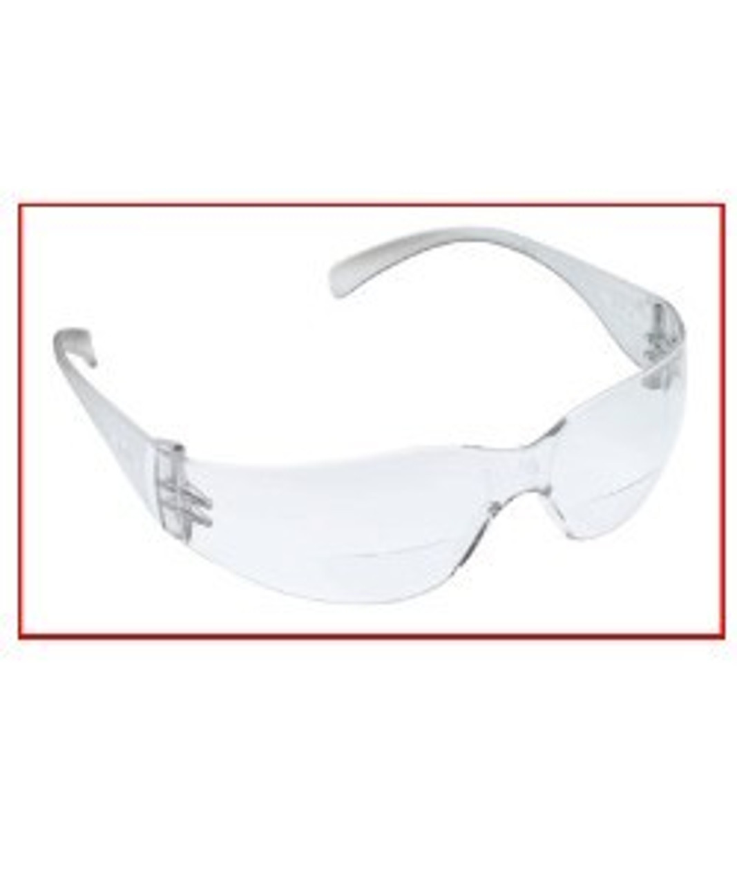 Clear Reader Safety Glasses