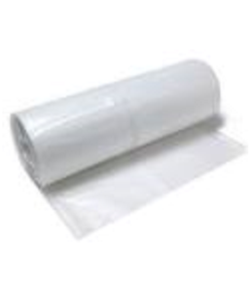 Clear Poly Plastic Sheeting, 4 mil, 8' x 100' From LeadPaintEPAsupplies.com
