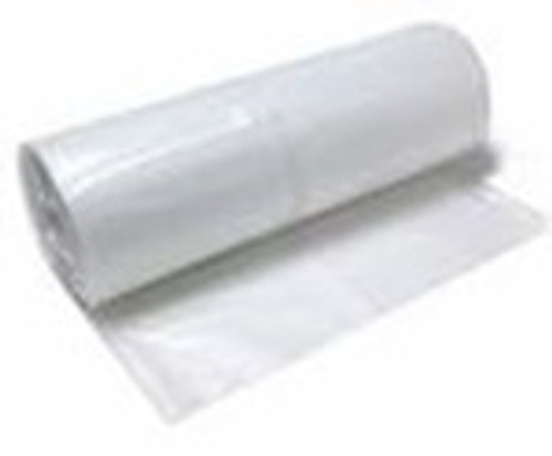 Clear Poly Plastic Sheeting, 4 mil, 4' x 100' From LeadPaintEPAsupplies.com