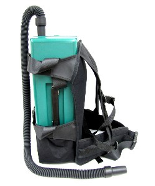 HEPA VACGRNS Lead Dust Vacuum from Atrix International includes Optional Backpack Harness and Air Driven Powerhead.