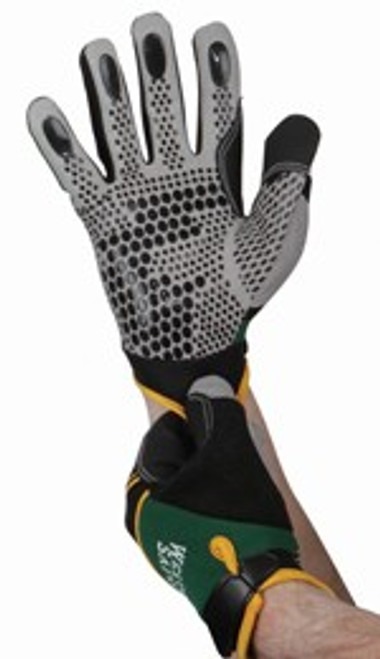 Mechanics Gloves w/ Spandex, Breathable, Hook & Loop, X-Large