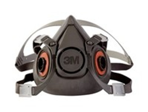 3M, Half Face Piece, Reusable Respirator, Compliant for EPA's RRP Program when used with correct filters (P100 disc) also Available at http://www.LeadPaintEPAsupplies.com