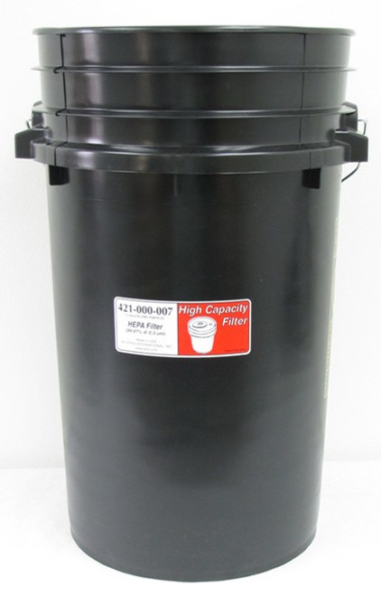 Atrix International High Capacity Vacuum Series, 7 Gallon Filter for HEPA Lead Dust High Capacity Vacuums
