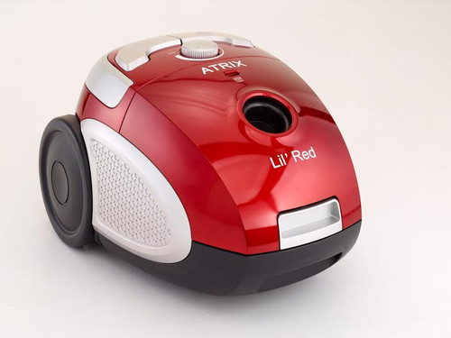 Atrix International Lil Red HEPA Vacuum.  this is a small yet powerful vacuum. Not rated for lead dust clean up but a great small vaccuum