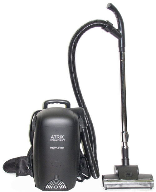 Atrix International 8 Quart HEPA backpack Vacuum, VACBP-1 with Attachments