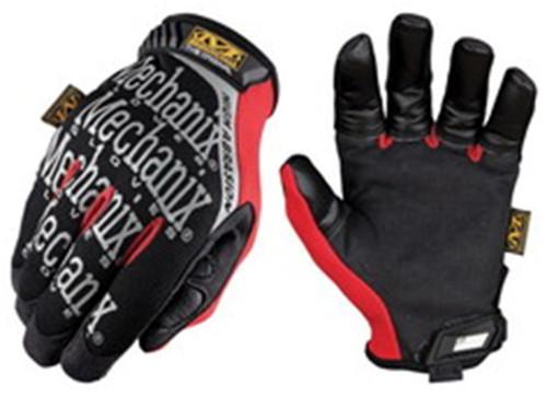 Mechanix Gloves, High Abrasion Resistant, Hook & Loop Closure, Large