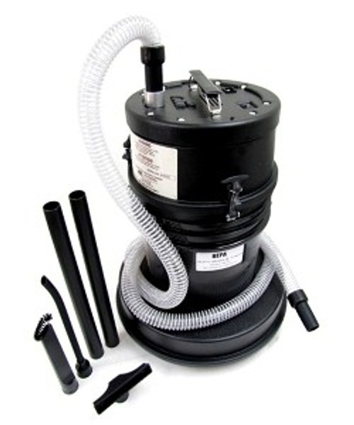 Atrix International 5 Gallon HEPA Lead Dust Vacuum, Includes Air Driven Powerhead with your purchase.