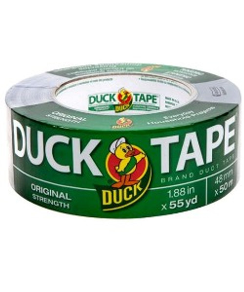 Duct Tape From Duck Brand In Its Original Strength Formula. Great For Basic Jobs, 2 Inches Wide X 165 Foot Long. Great For Uneven Surfaces.