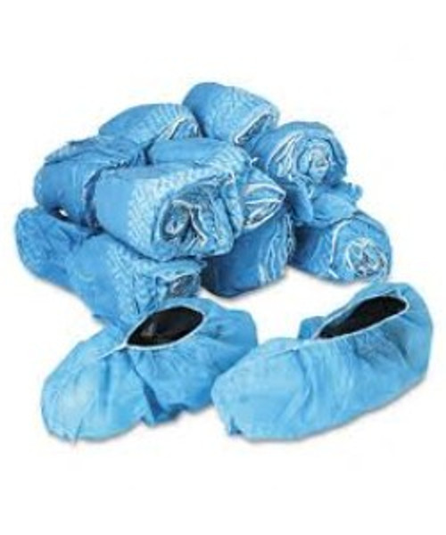XL Shoe Covers, Polypropylene non slip, One Roll - 50 pairs - 10 rolls