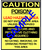 Caution, Poison, Lead Hazard Warning RRP Sign In 10 Languages - Downloadable Product. Never Order Signs Again - Order, Download, Save, and Print as Needed.