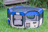 Armarkat Portable Playpen PP001B Medium Blue and Beige Combo