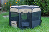 Armarkat Portable Playpen PP003BGE-M Black and Beige Combo