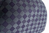 Armarkat Cat Bed Model C65HHG/LS, Purple Gray Combo Checkered Pattern