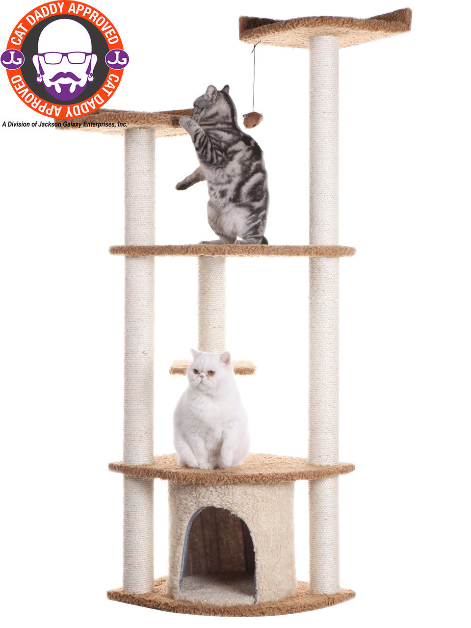 Classic Cat Tree A6402 (FINAL SALE)