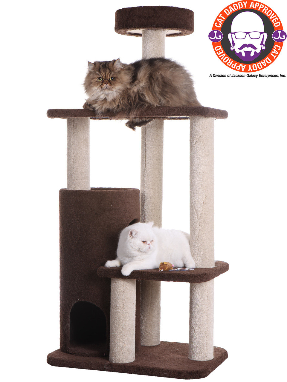 Premium Carpeted Cat Tree F5602