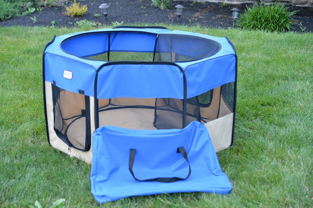 Armarkat Portable Playpen PP001B-XL