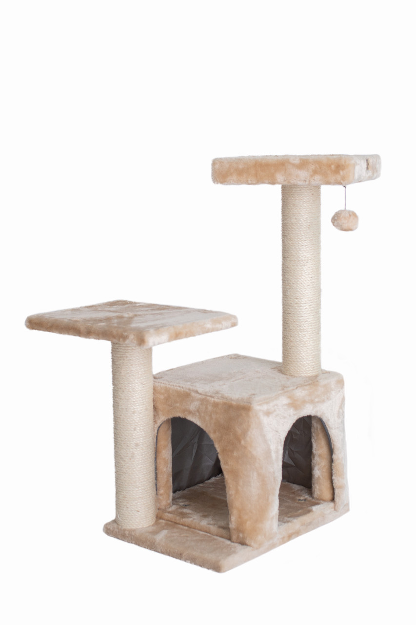 Classic Cat Tree A3207 32-inch Beige