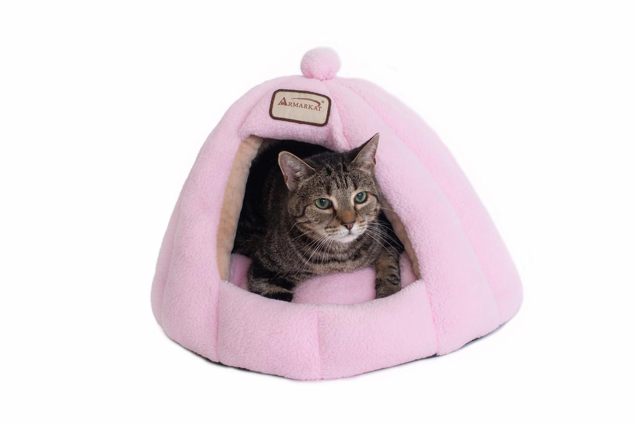 Armarkat Cat Bed Model C95GFS Soft Pink