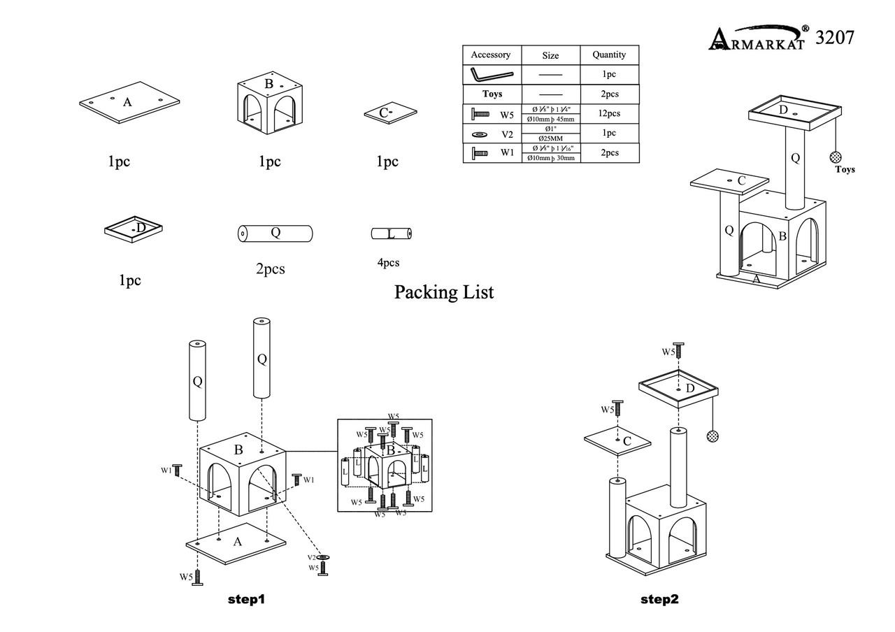 A3207 Parts