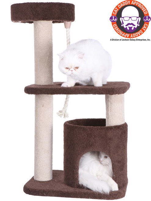 Premium Carpeted Cat Tree F3703