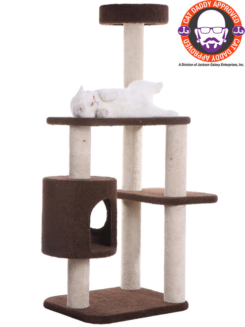 Premium Carpeted Cat Tree F5502